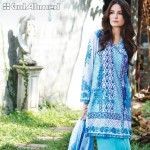 Gul Ahmed Three Piece Lawn Spring Summer Collection 2017 (13)