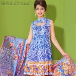 Gul Ahmed Three Piece Lawn Spring Summer Collection 2017 (4)
