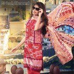 Gul Ahmed Three Piece Lawn Spring Summer Collection 2017 (5)