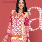 Gul Ahmed Three Piece Lawn Spring Summer Collection 2017 (6)