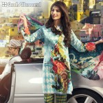 Gul Ahmed Three Piece Lawn Spring Summer Collection 2017 (7)