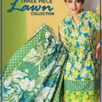 Gul Ahmed Three Piece Lawn Spring Summer Collection 2017 (8)