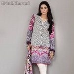 Gul Ahmed Three Piece Lawn Spring Summer Collection 2017 (9)
