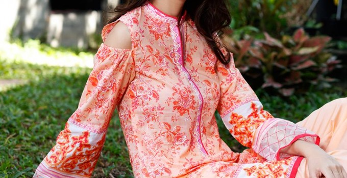 Gul Ahmed Three Piece Lawn Spring Summer Collection 2017 (10)