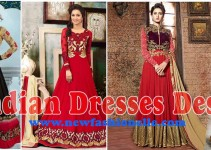 Latest Indian Designer Party Dresses 2017
