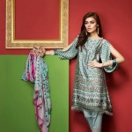 Khaadi Lawn Spring Embroidered Collection 2017 Volume (9)