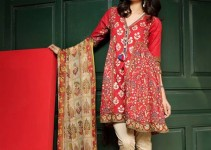 Khaadi Lawn Spring Embroidered Collection 2017 Volume (10)