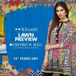 Khaadi Lawn Spring Embroidered Collection 2017 Volume (3)