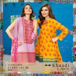 Khaadi Lawn Spring Embroidered Collection 2017 Volume (4)