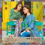 Khaadi Lawn Spring Embroidered Collection 2017 Volume (5)