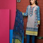 Khaadi Lawn Spring Embroidered Collection 2017 Volume (12)