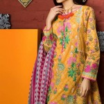 Khaadi Lawn Spring Embroidered Collection 2017 Volume (6)