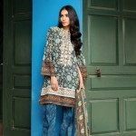 Khaadi Lawn Spring Embroidered Collection 2017 Volume (7)