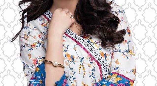 Pareesa Lawn Spring Summer Collection 2017 prices