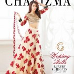 Wedding Bells by Charizma Chiffon Collection 2017 (2)