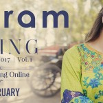 alkaram studio - Spring Collection 2017 - Vol (2)