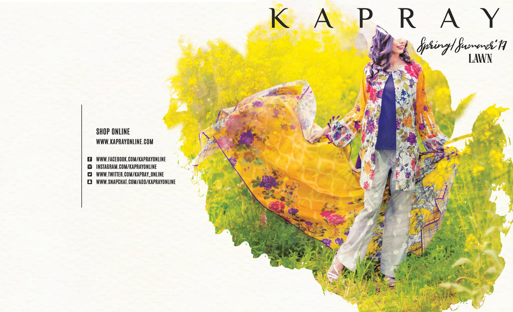 Kapray Spring Summer floral Lawn Collection 2017 (12)
