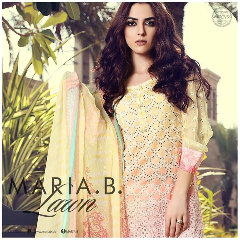 Maria B Summer Lawn Dresses Collection 2017