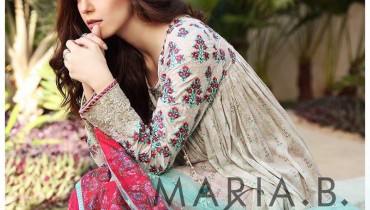 Stylish Maria.B Lawn Collection 2017 for Spring Summer (1)