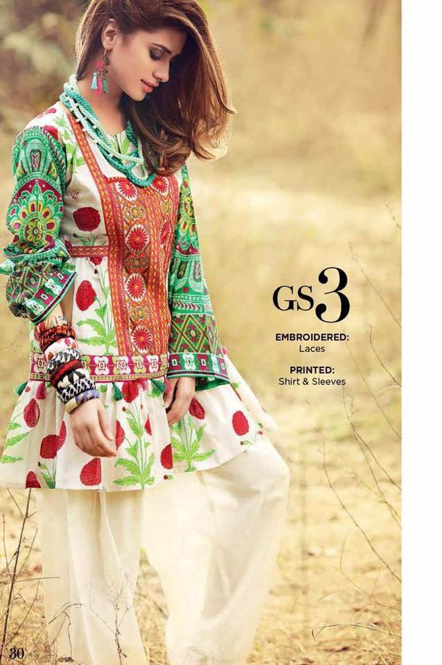 Gul Ahmed Summer Collection'17 for EId days