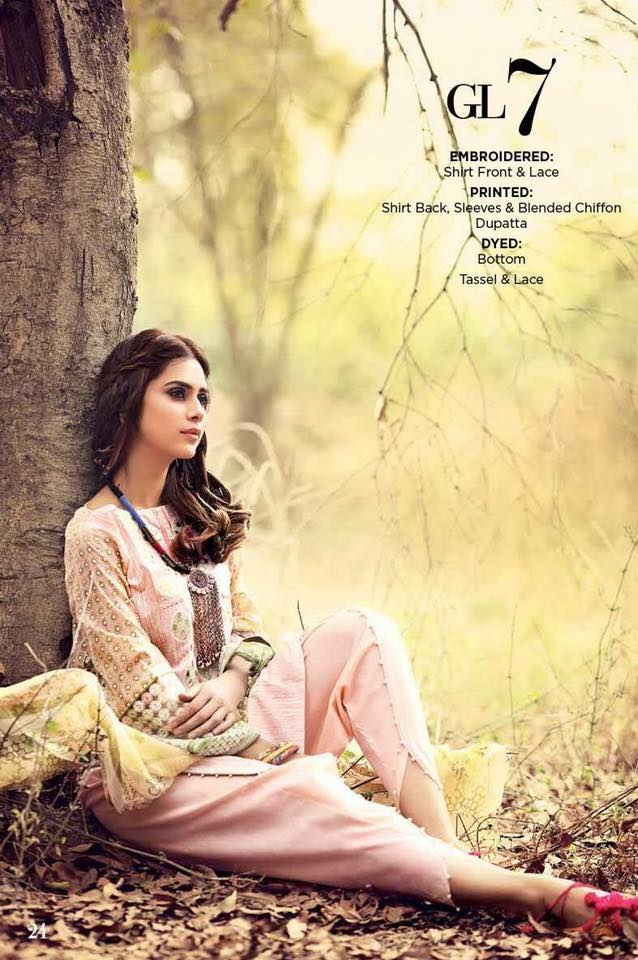 Beautiful Gul Ahmed Gypsy Range 2017 for Eid ul Fiter