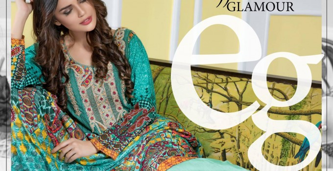 Falak Fabric Lawn Vintage Collection 2017 (3)