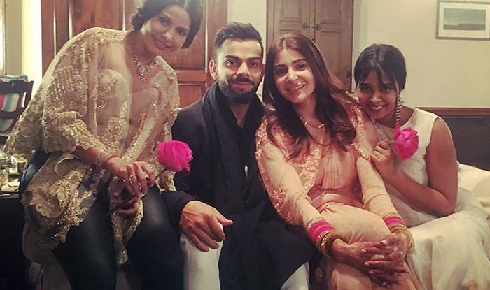 Bridal wiew of Anushka Sharma And Virat Kohli wedding