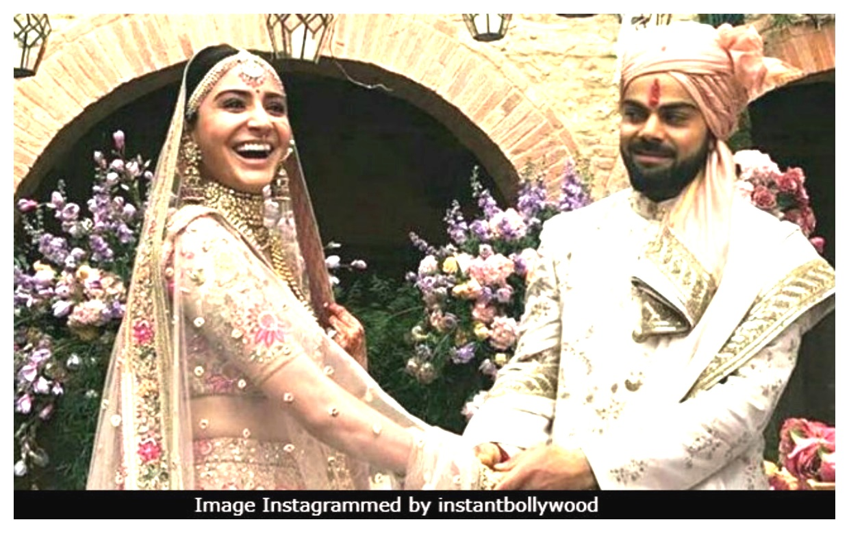 Anushka Sharma And Virat Kohli best wedding of Indian