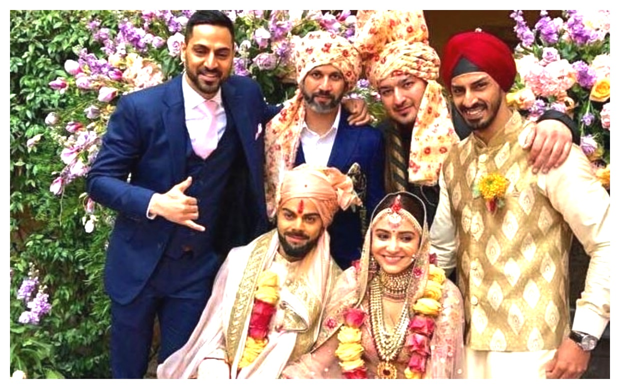 Anushka Sharma And Virat Kohli latest wedding marriage photos