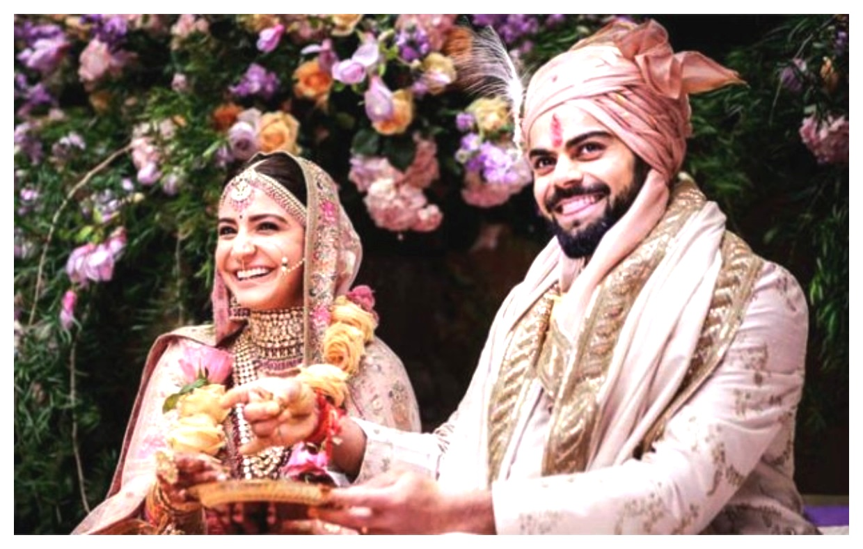 Anushka Sharma And Virat Kohli wedding Best pics