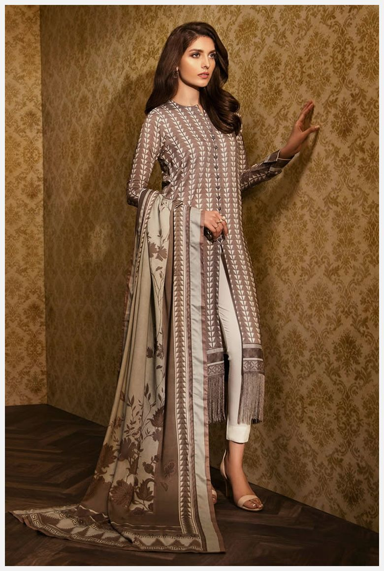 Best AlKaram Velvet Dresses 2019 for women