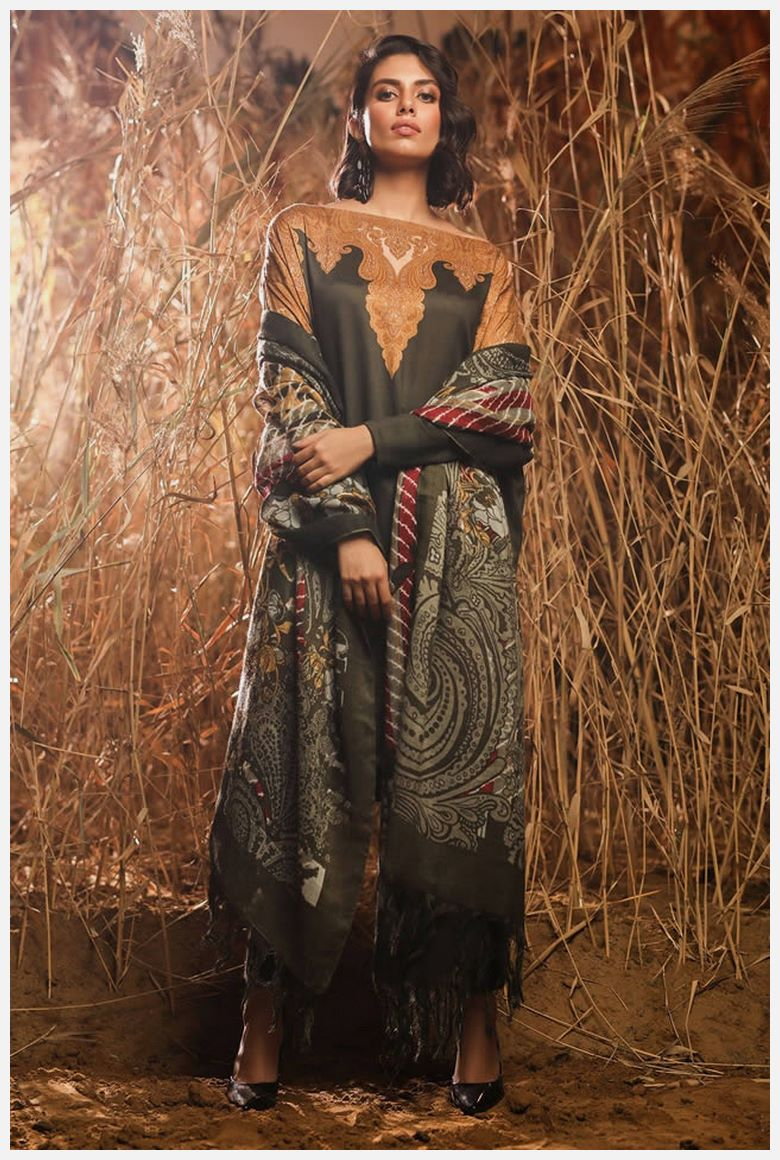 AlKaram winter Dresses 2019
