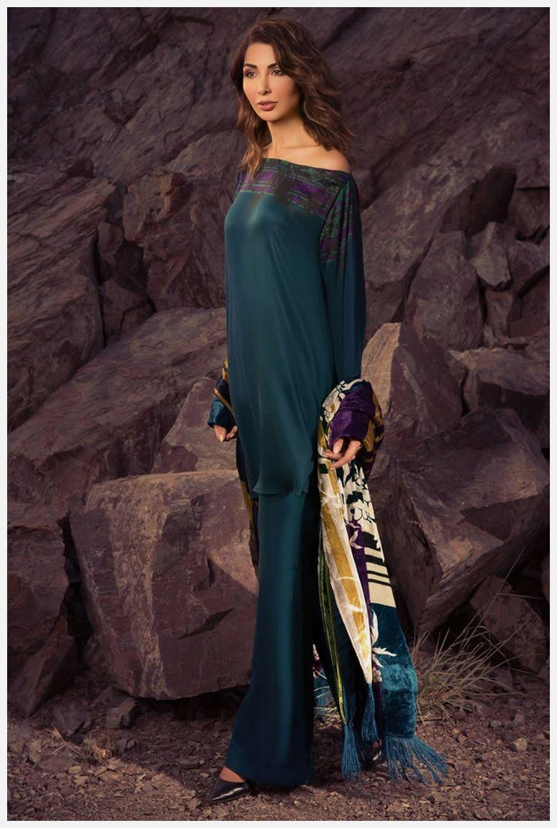 New AlKaram Velvet Dresses 2021