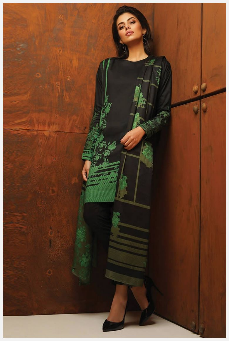 Get AlKaram winter Dresses 2019